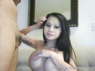Любительское порно в чулках