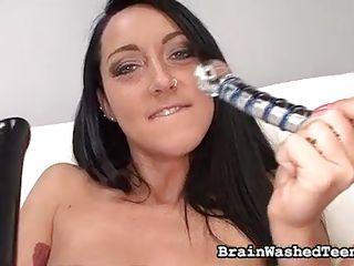 Домашнее порно видео с игрушками
